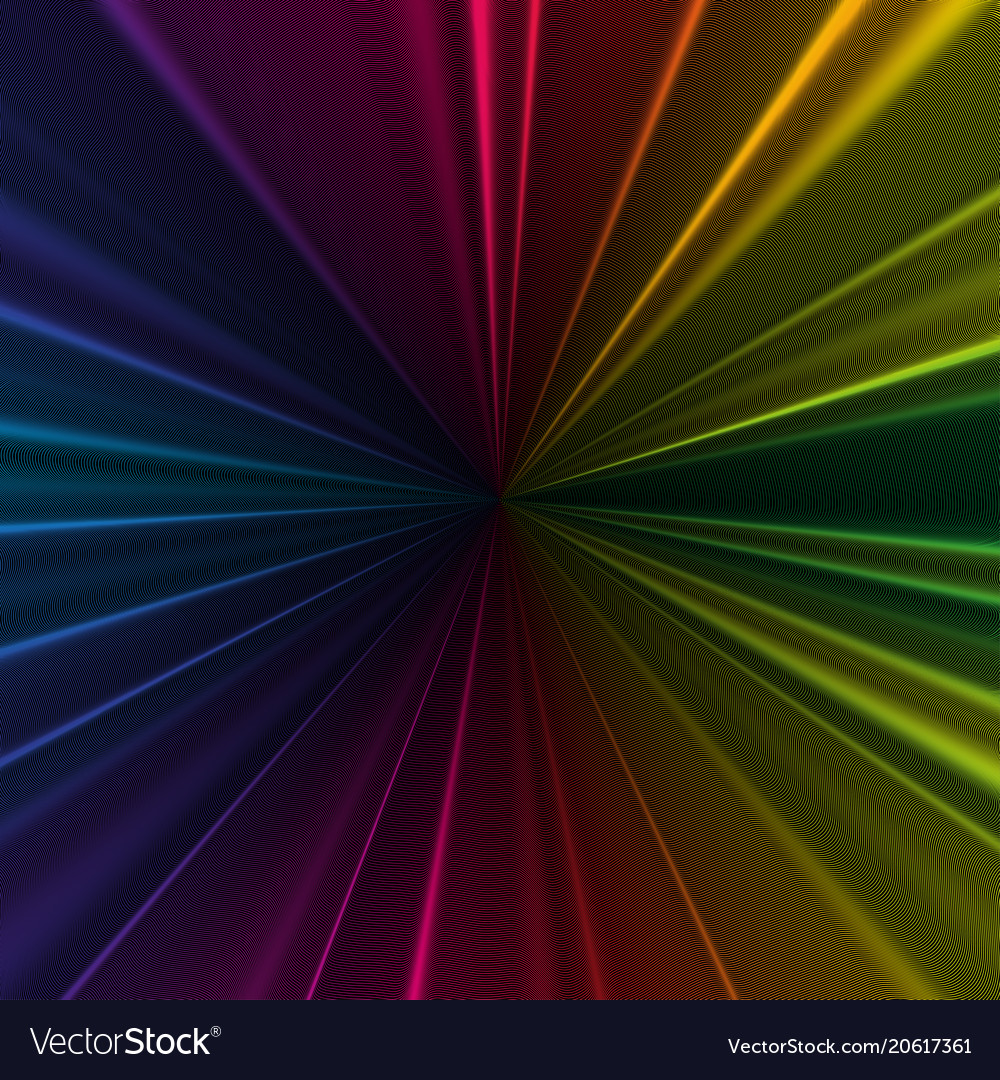 Colorful 3d background with abstract waves lines