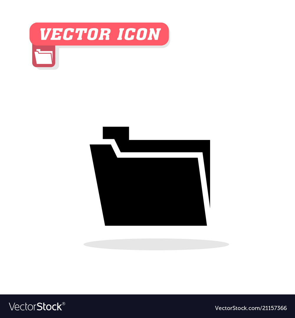 Folder icon white background image