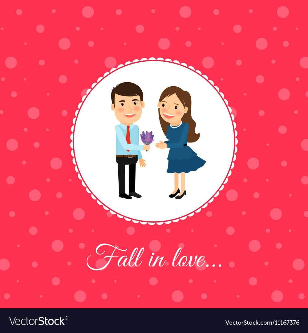 Fall in love couple