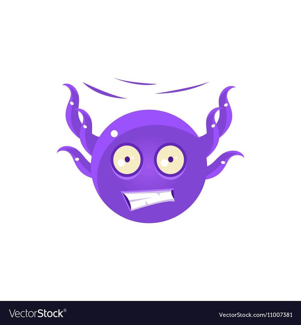 Free Falling Funny Octopus Emoji