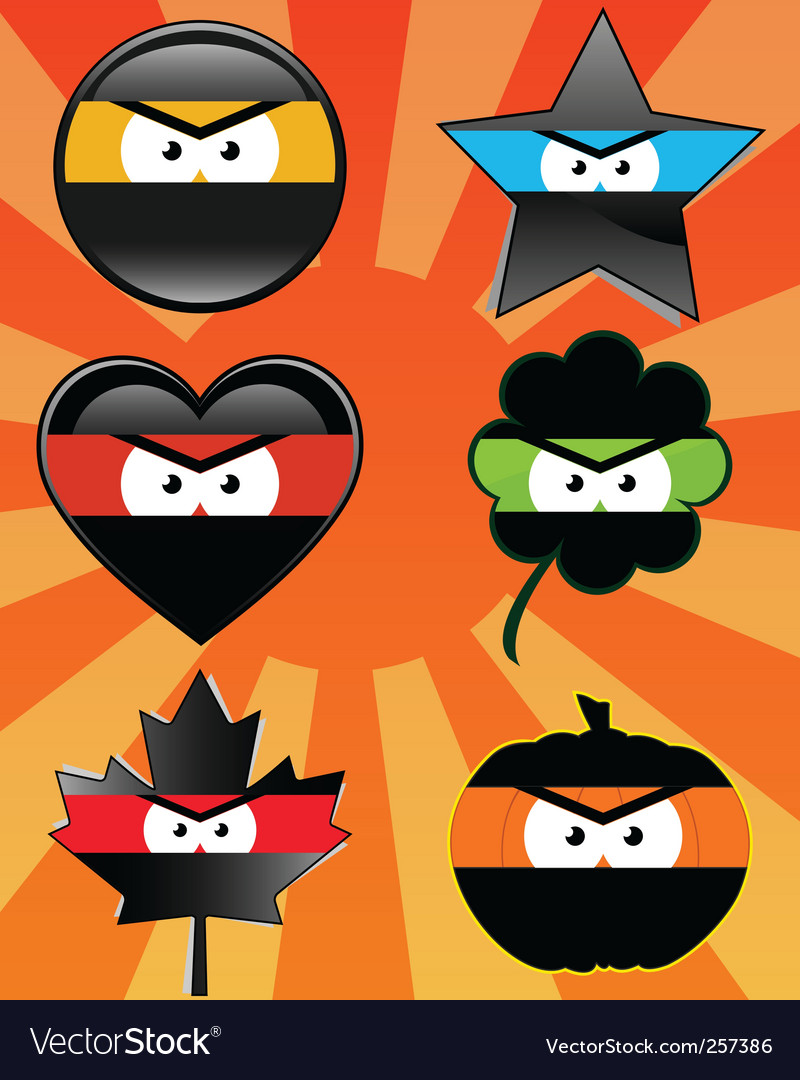 Ninja emoticons