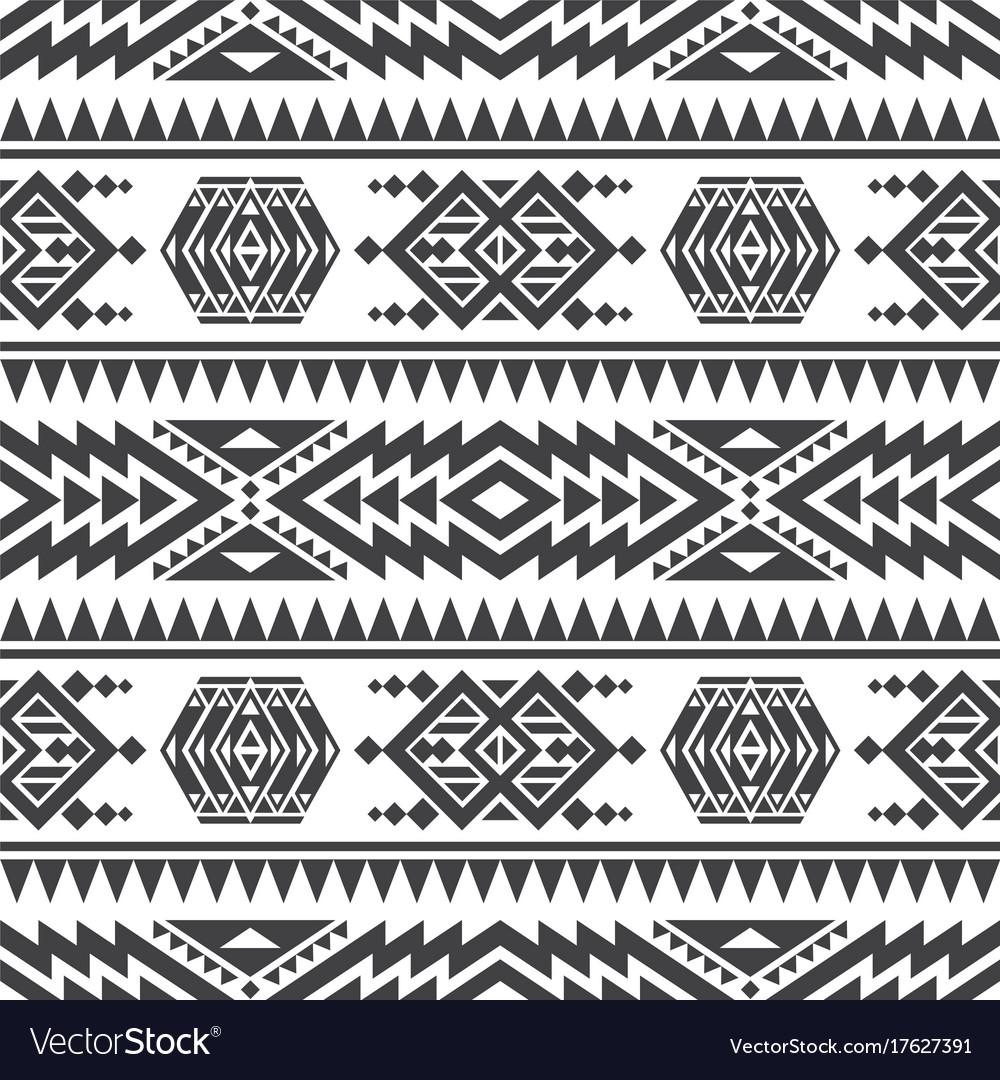 American aztec seamless texture native