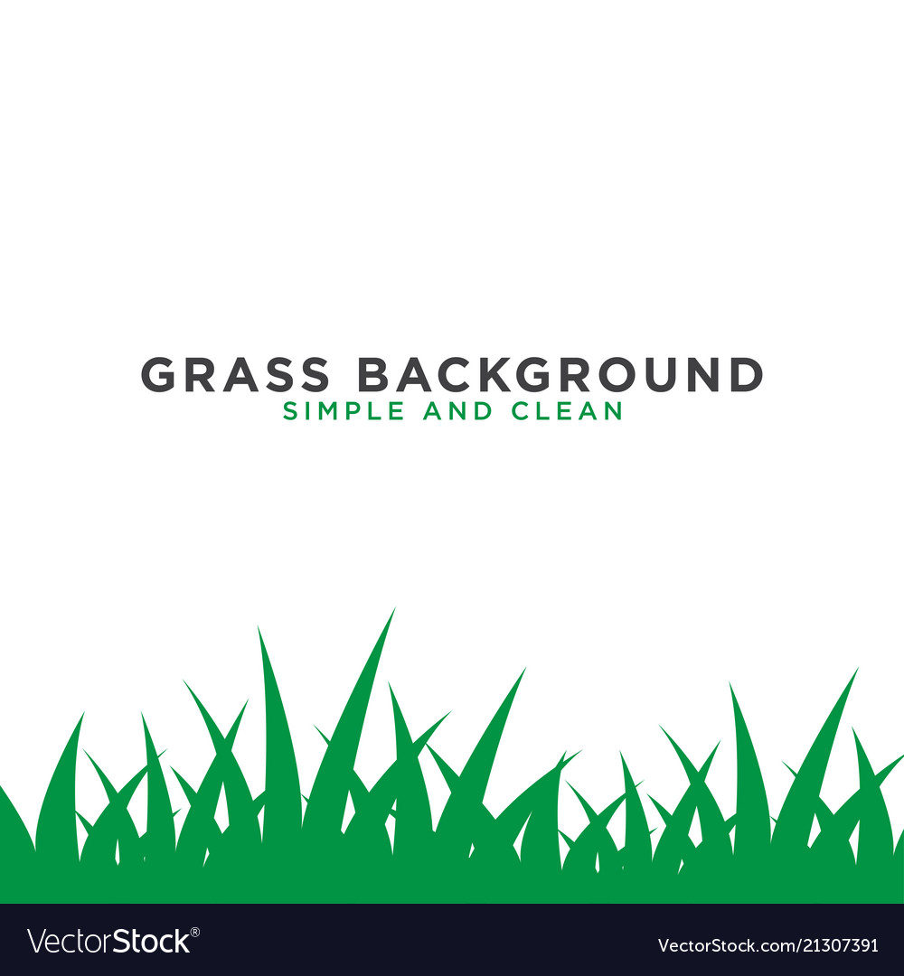 Grass background design template