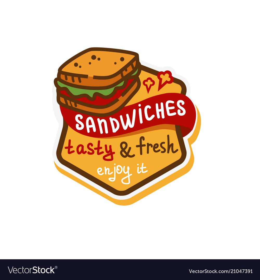 Sandwich logo icon