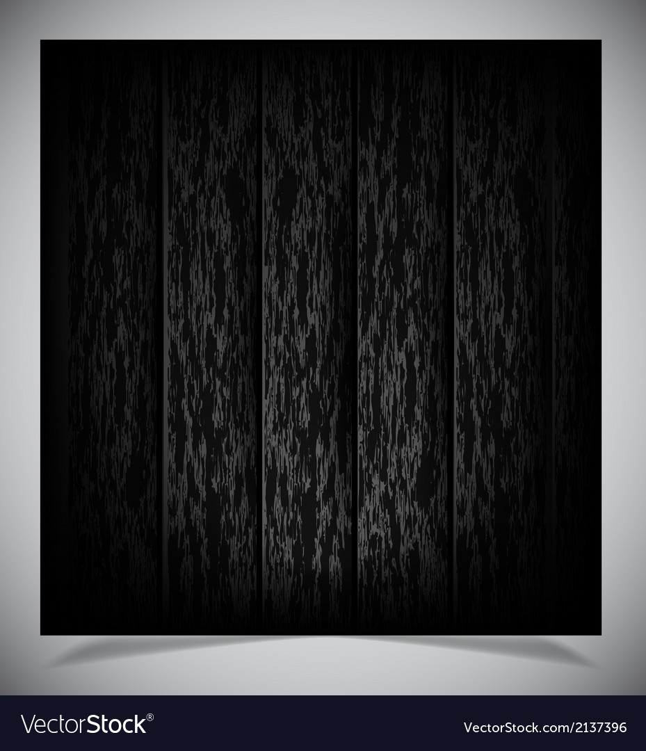 Abstract Dark Wood Background Royalty Free Vector Image