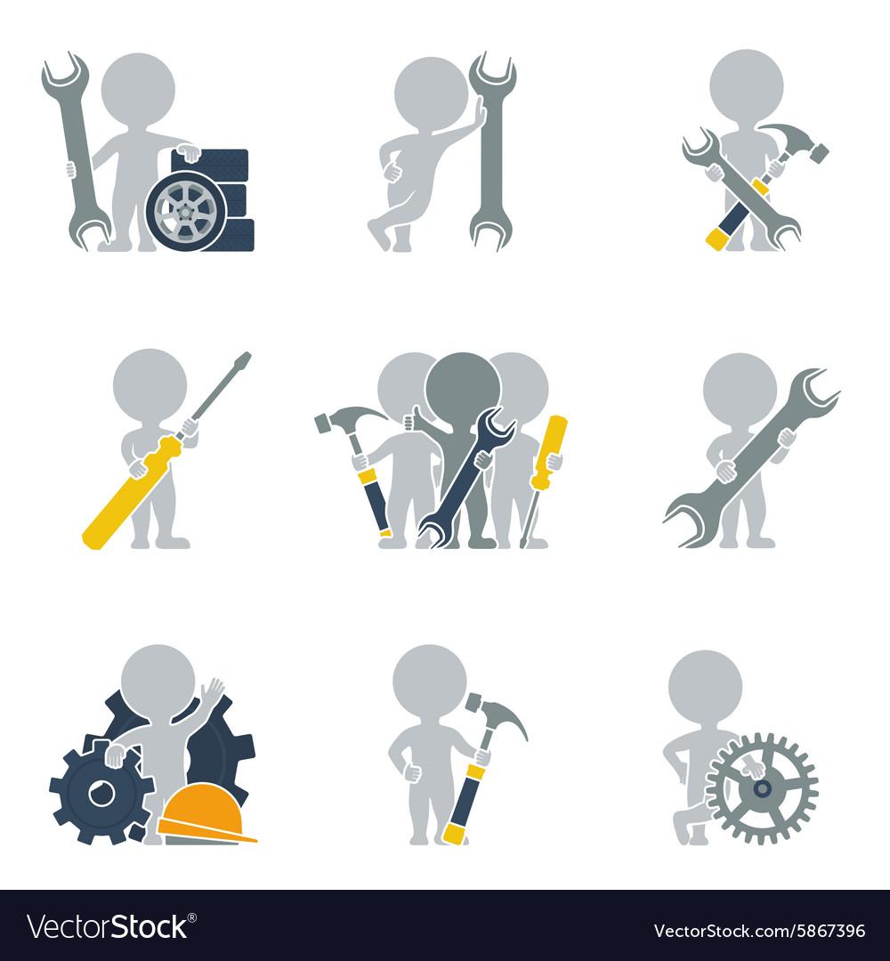 Flat people mechanics