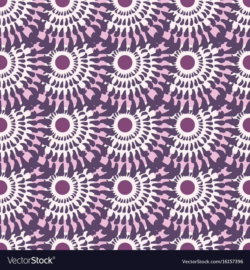 Vintage seamless pattern pink abstract background