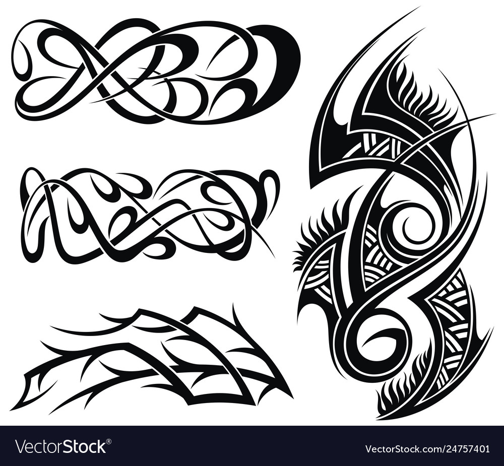 Abstract elements designs