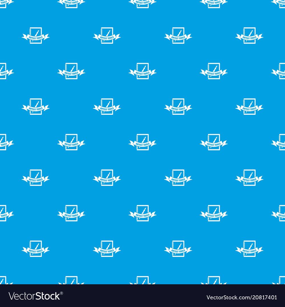 Artwork pattern seamless blue