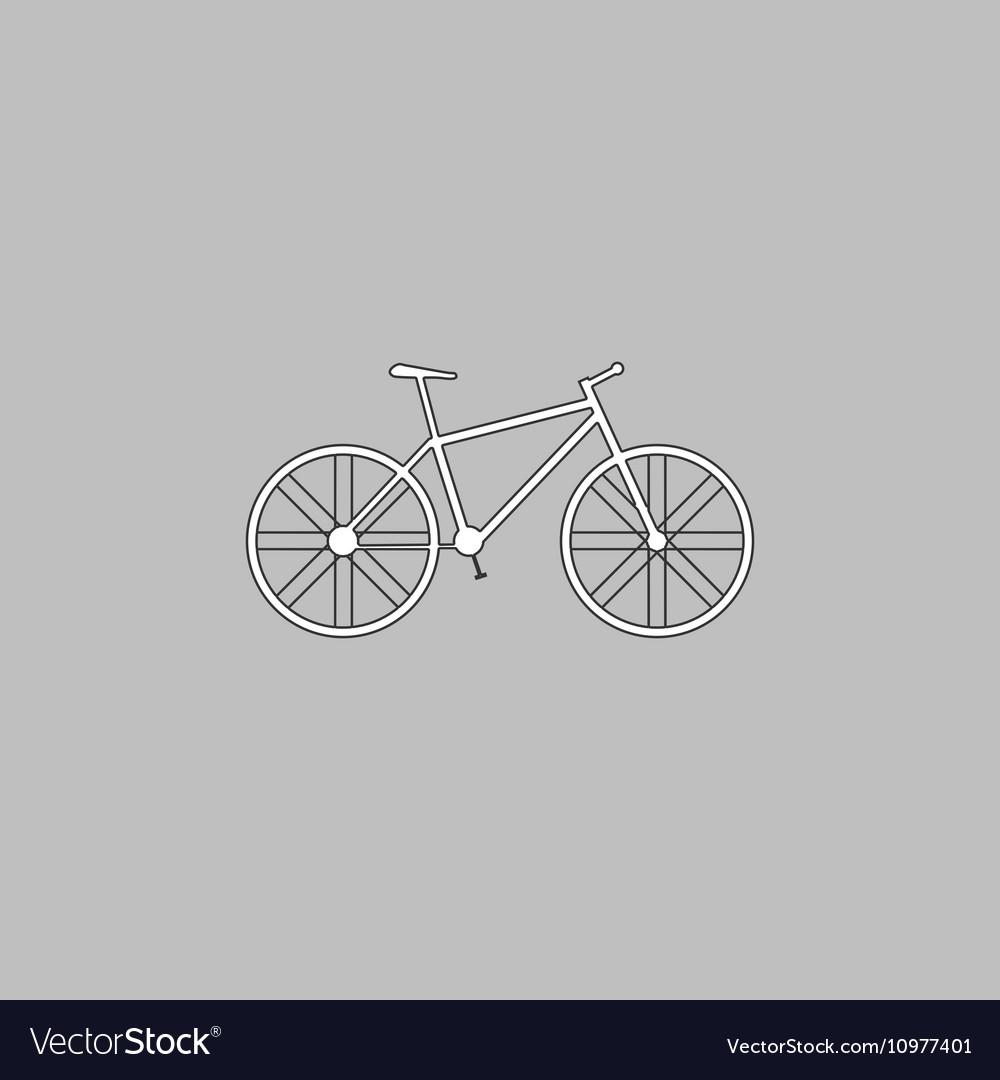 Bicycle computer symbol