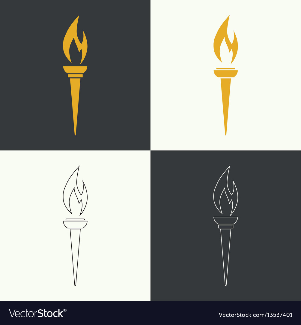 Icon of torch