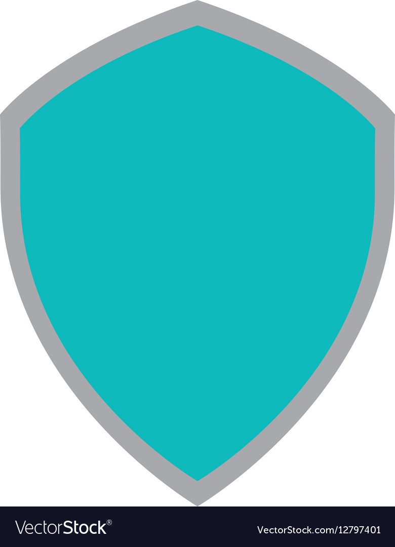 Shiled protection system technology icon