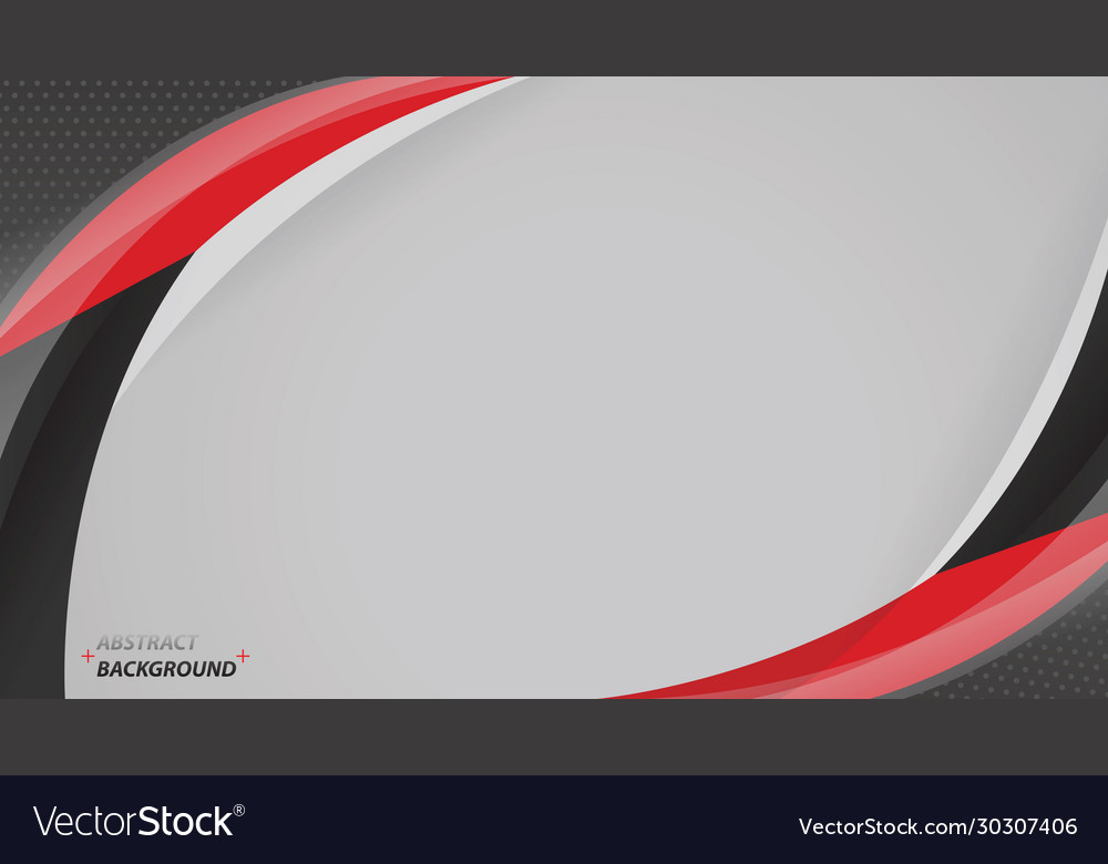 Corporate concept red black grey modern