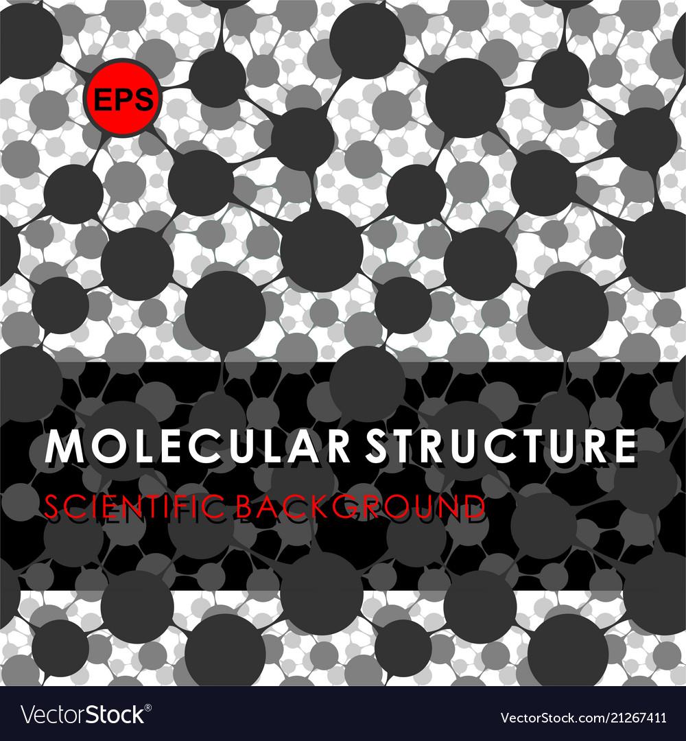 Molecular structure scientific background