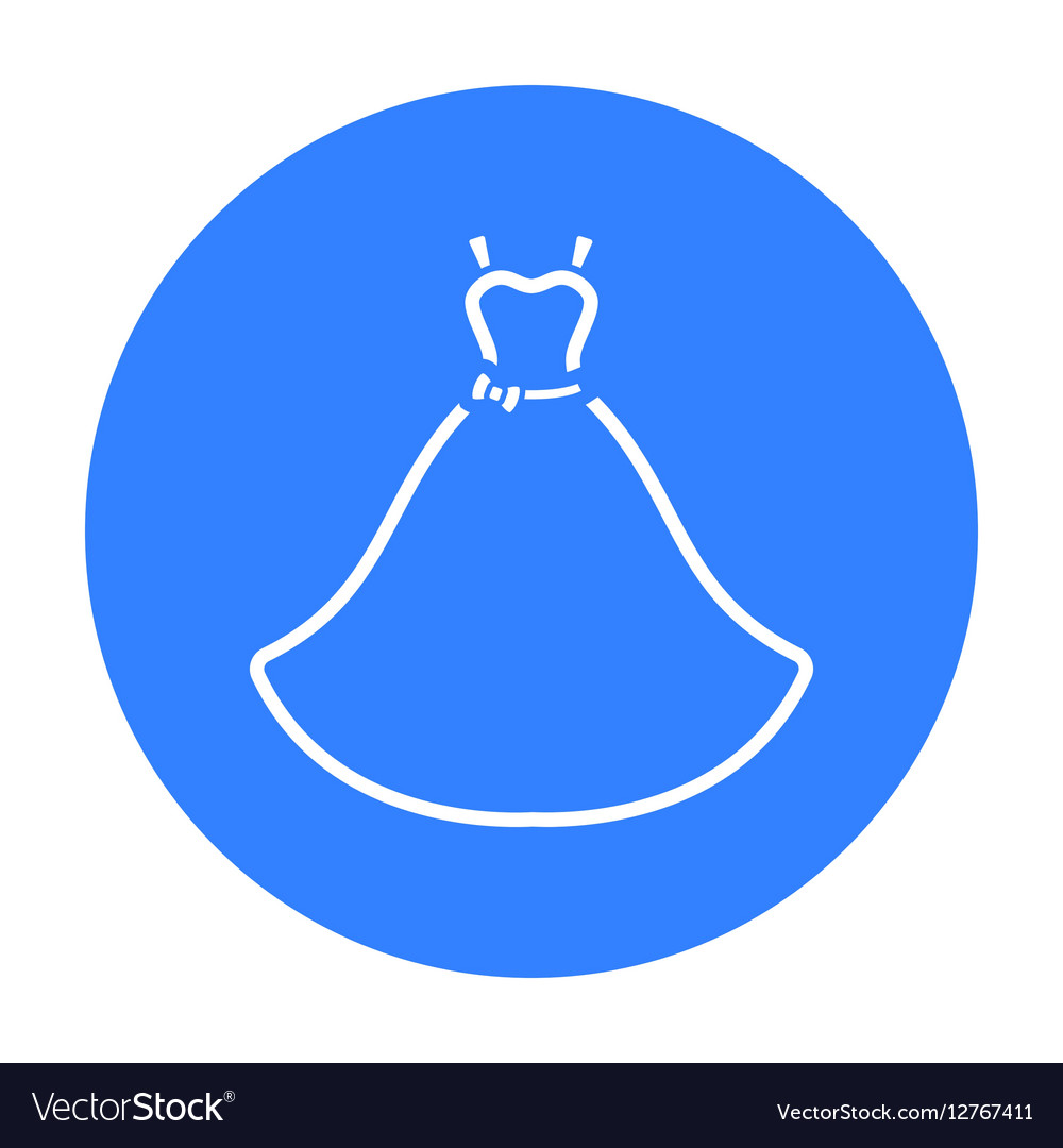 Wedding Dress icon of for web