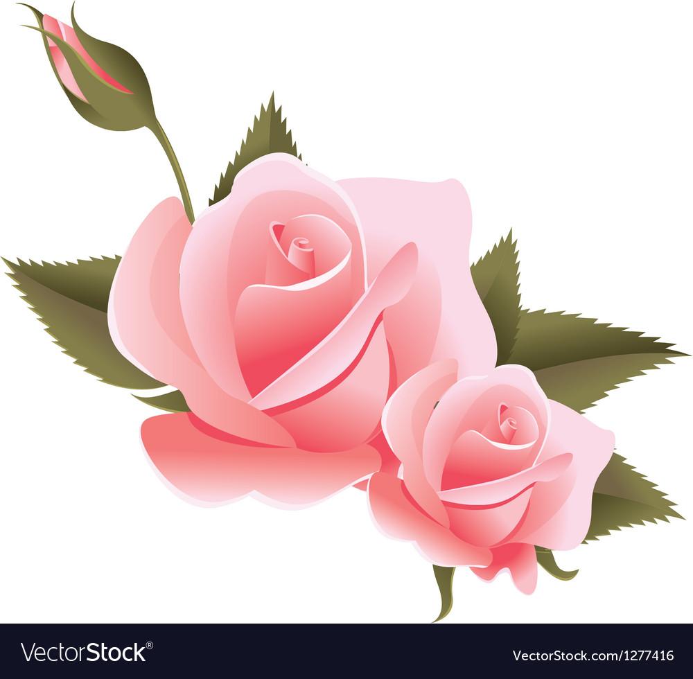 Flower design element