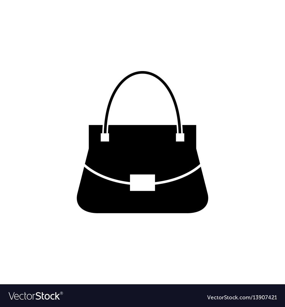 Woman bag icon Royalty Free Vector Image - VectorStock 3baad272ab