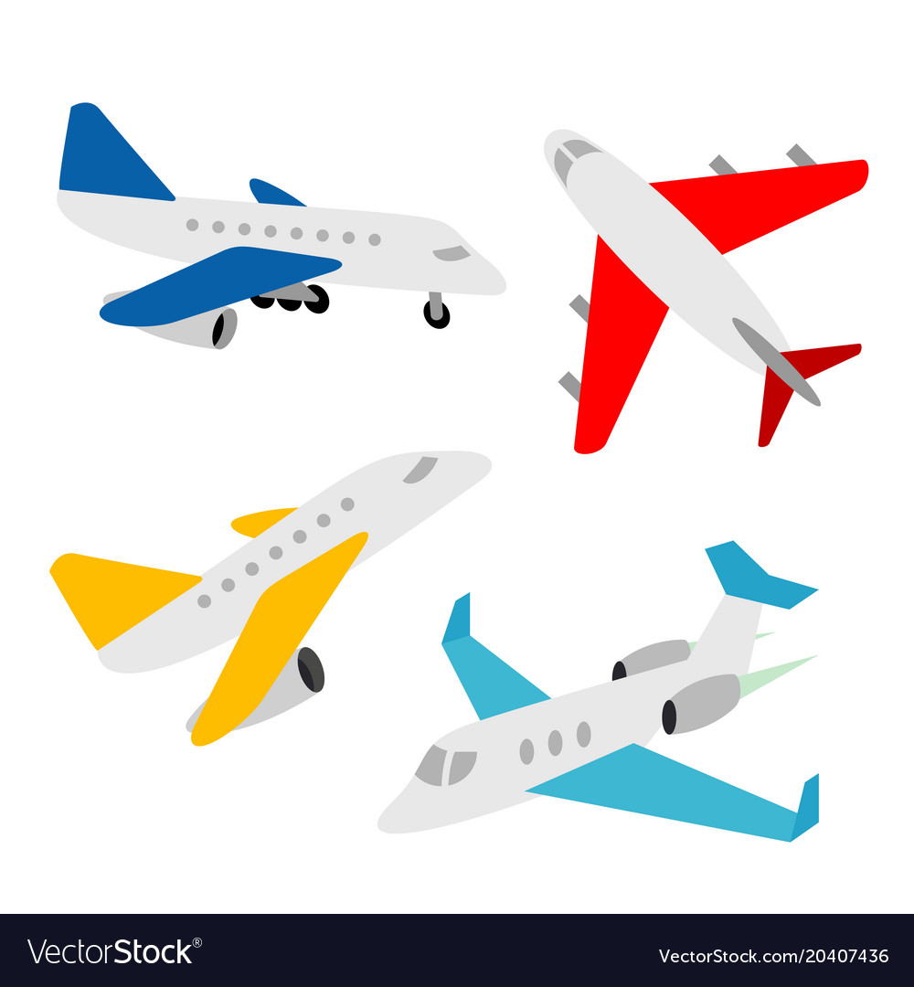 Airplane transportation vehicles transport