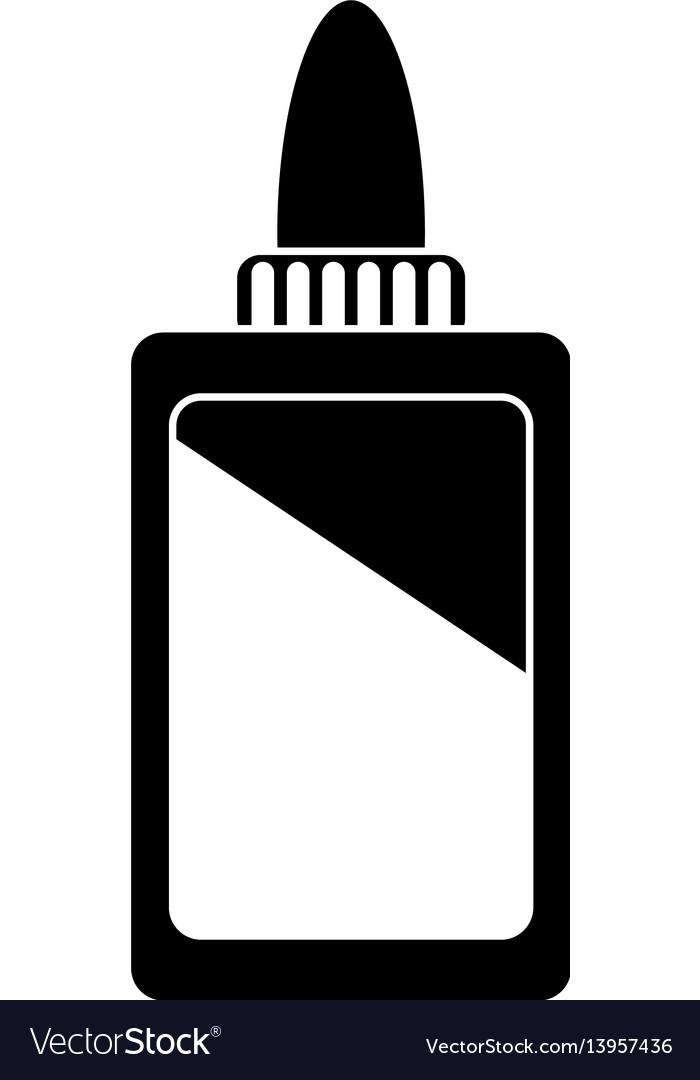 Bottle glue school pictogram