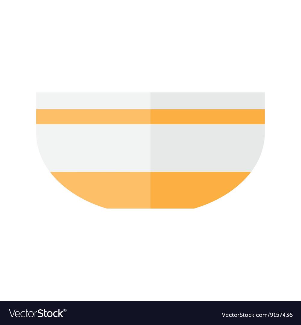 Salad bowl is empty