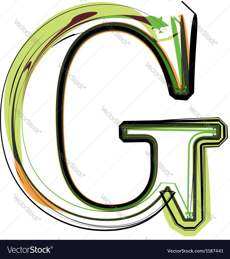 Organic Font