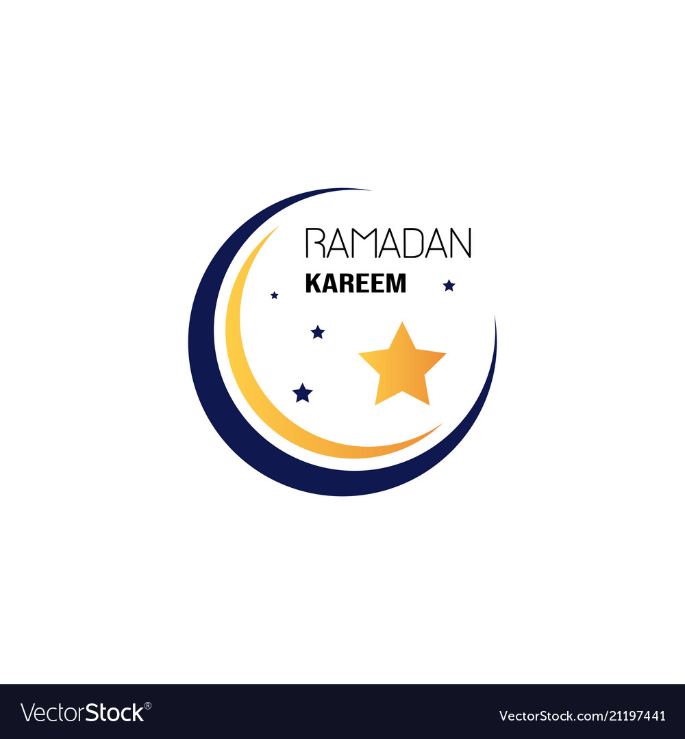 Ramadan kareem muslim religion holy month flat