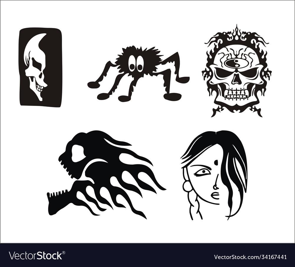 Roman skull tattoo images