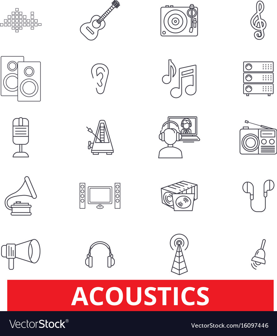 Acoustics sound music guitar electric