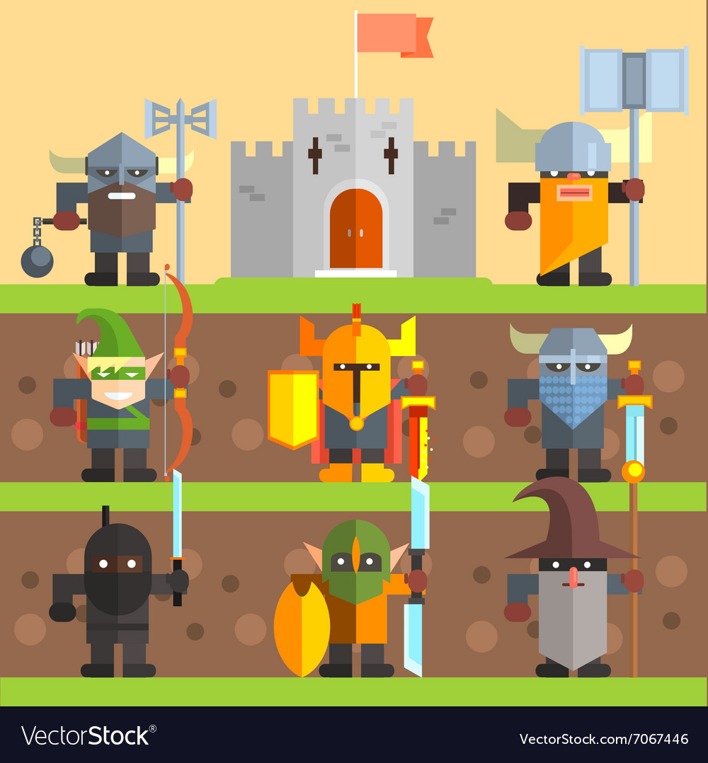 Castle and Knights Medieval Game Set