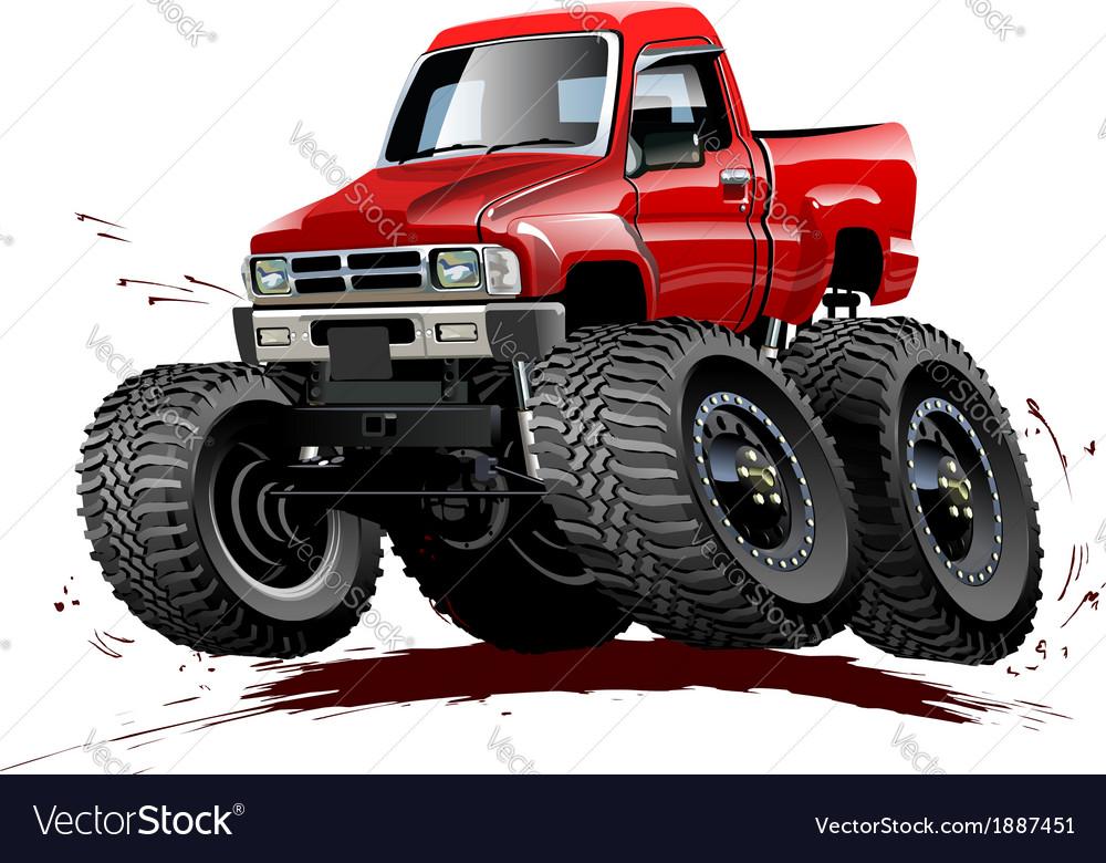 Cartoon Monster Truck one-click repaint
