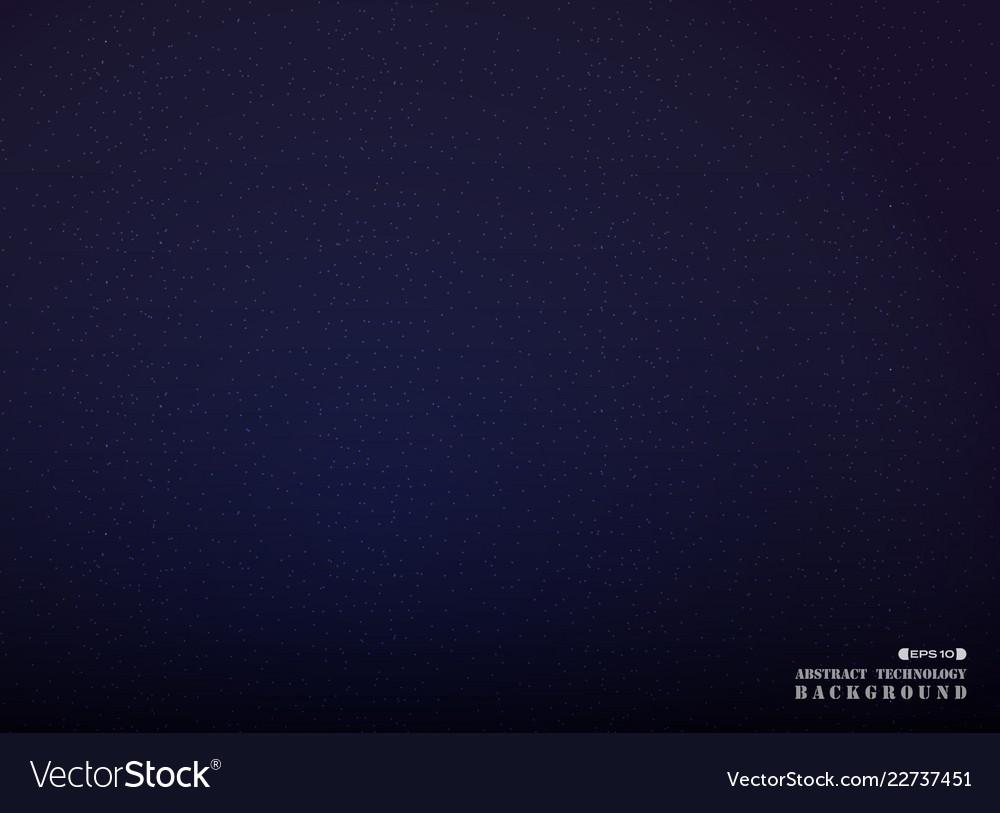 Dark space of blue galaxy universe background