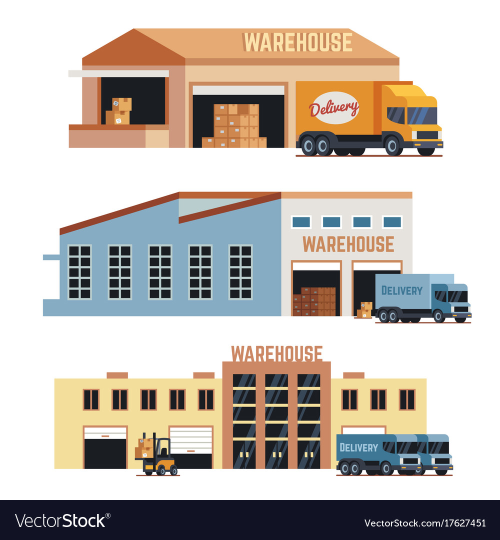 Warehouse building industrial construction and