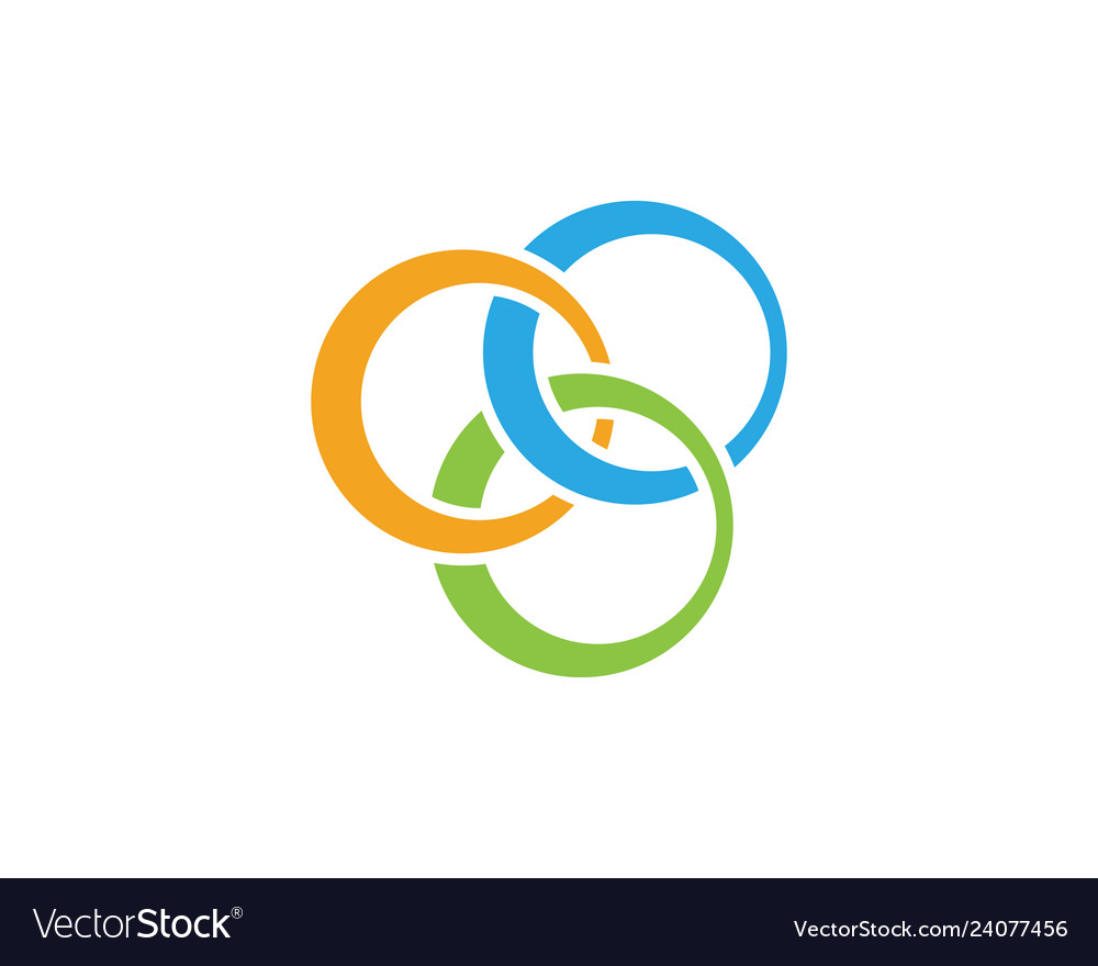 Business corporate abstract unity logo
