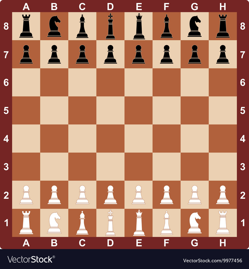 Chess board concept for
