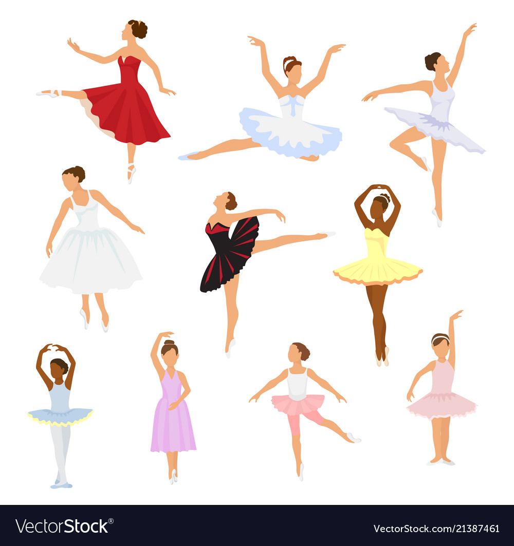 Ballet dancer ballerina woman character