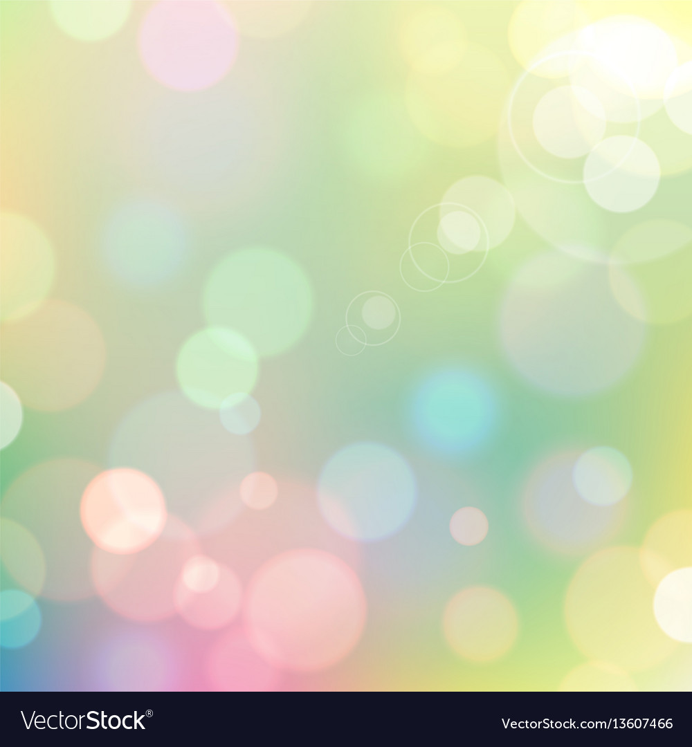 Festive colorful bokeh background