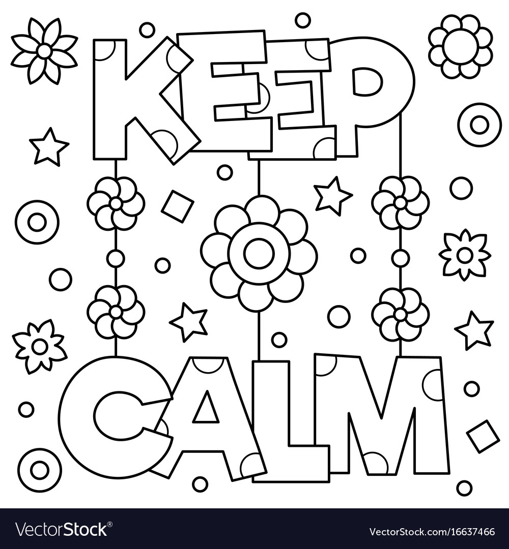 calm coloring pages - photo#5