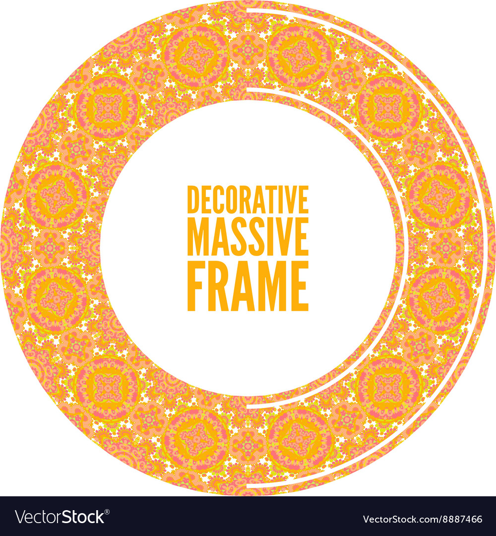 Ornate frame in Victorian style Decorative