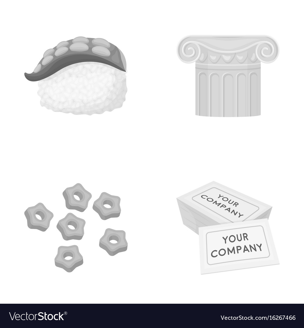 Restaurant history industry and other web icon vector image