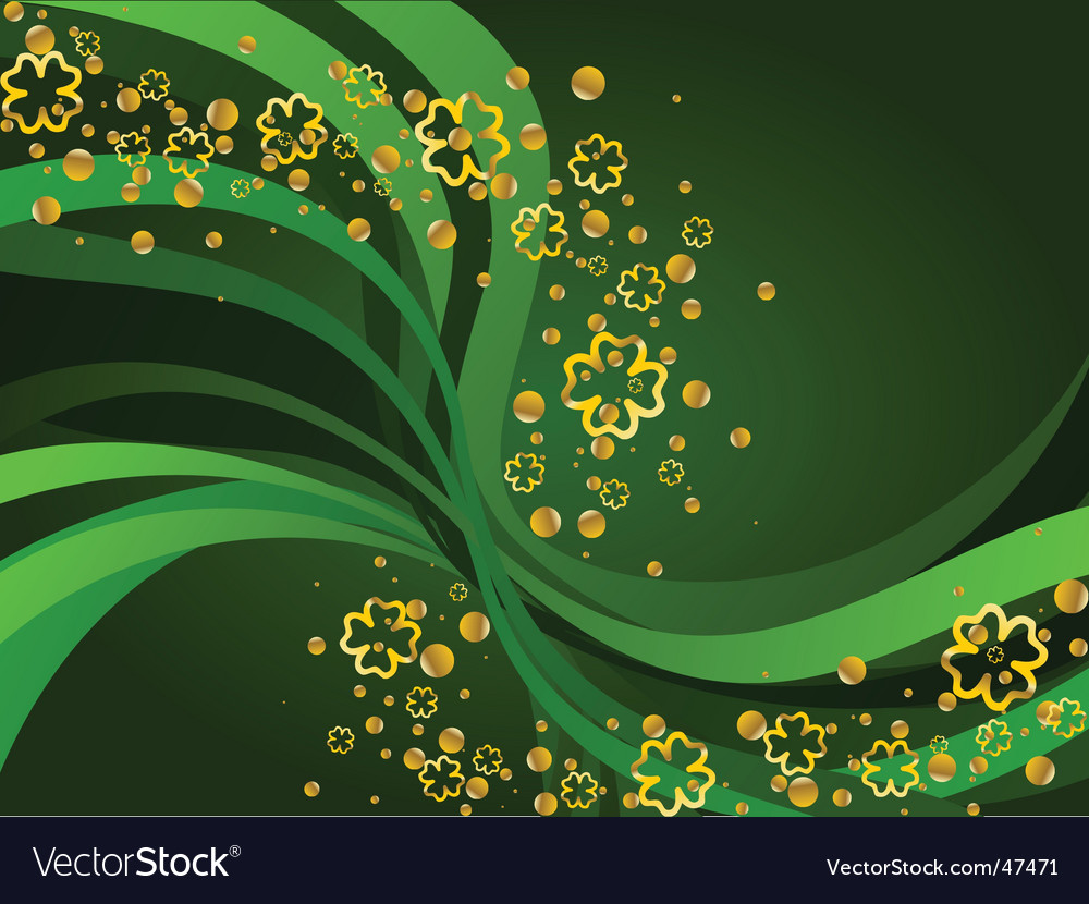 saint patricks day wallpapers. Gold and Green St Patrick's Day background. Keywords: background wallpaper