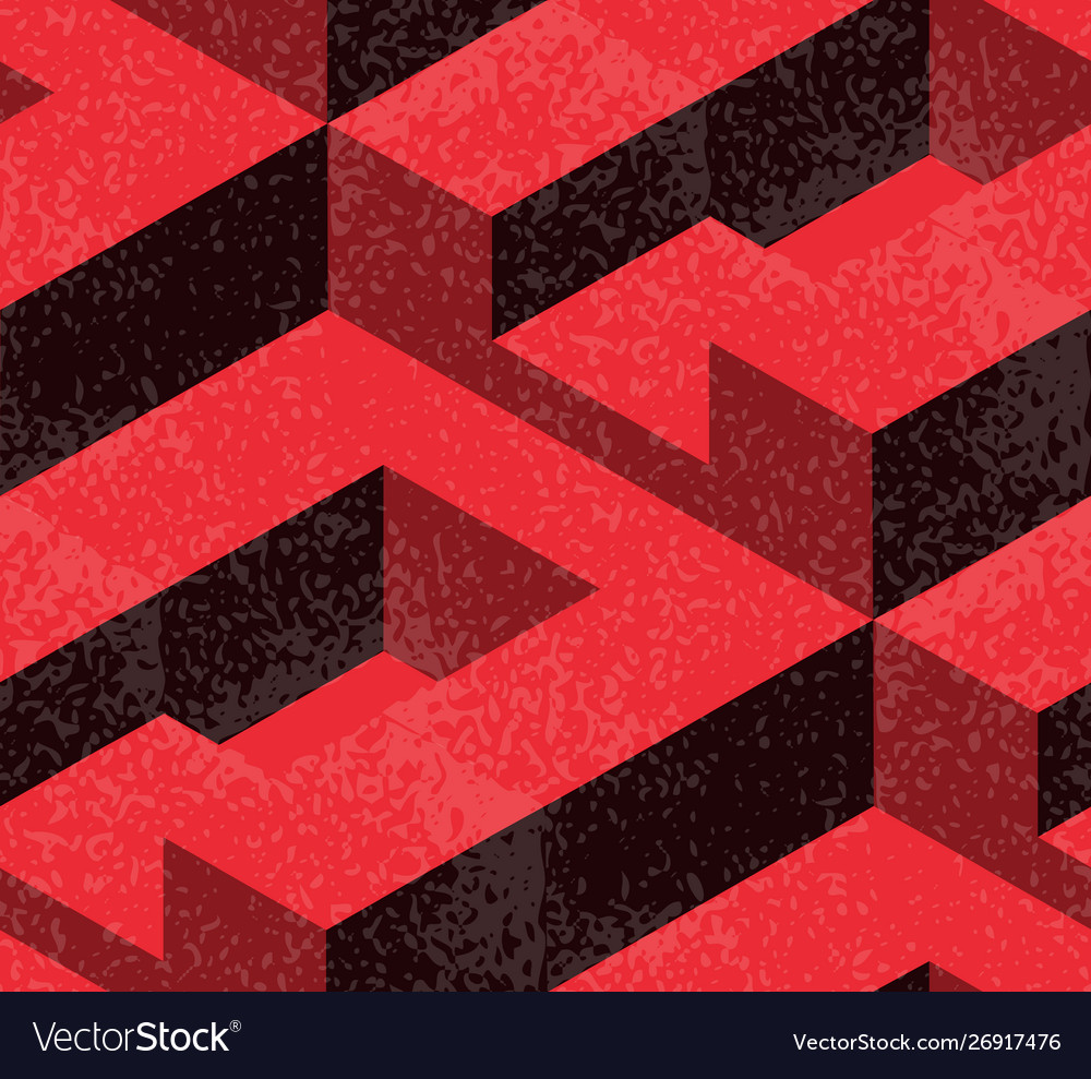 Abstract geometric isometric