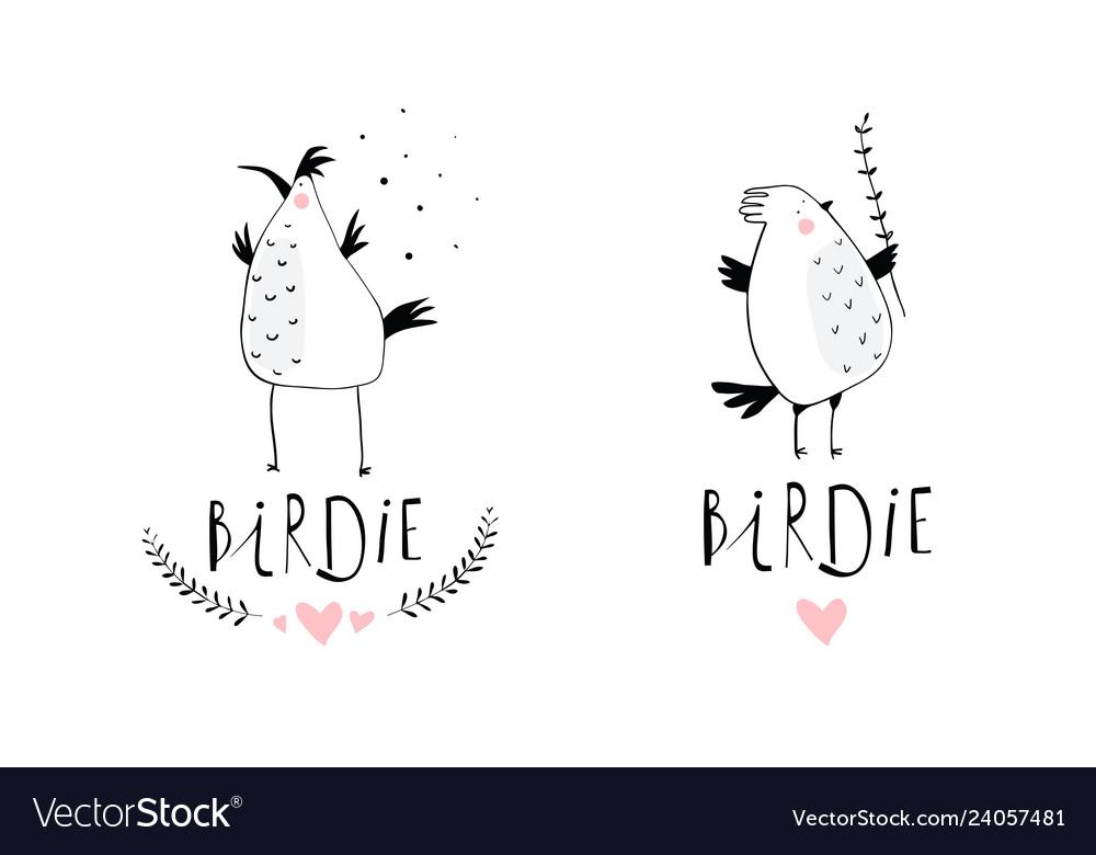 Little birds branding logo design