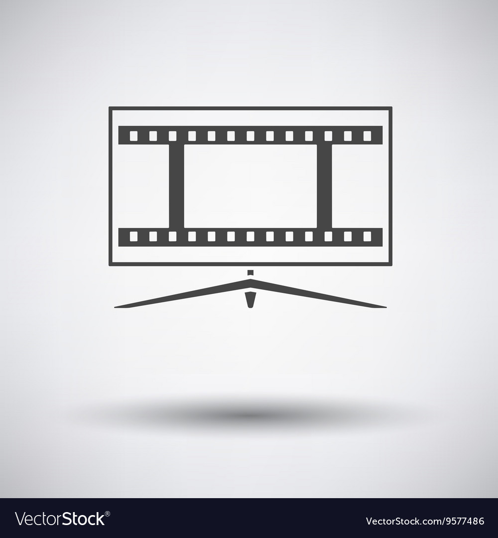 Cinema TV screen icon
