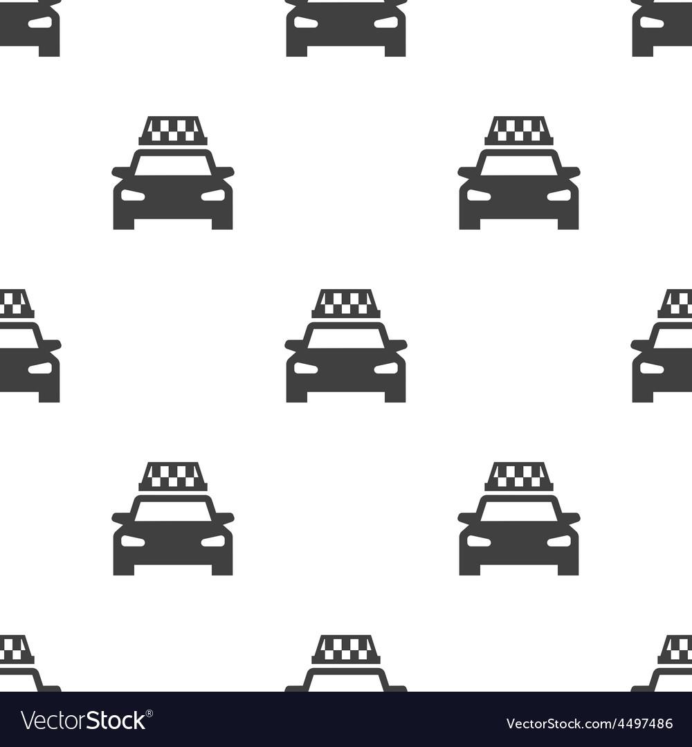 Taxi seamless pattern
