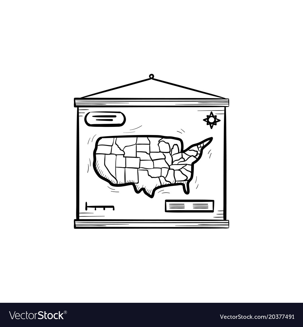 World map hand drawn sketch icon royalty free vector image world map hand drawn sketch icon vector image gumiabroncs Images
