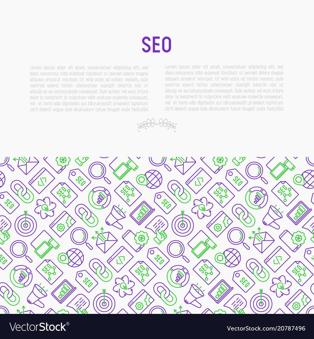 Seo and development concept