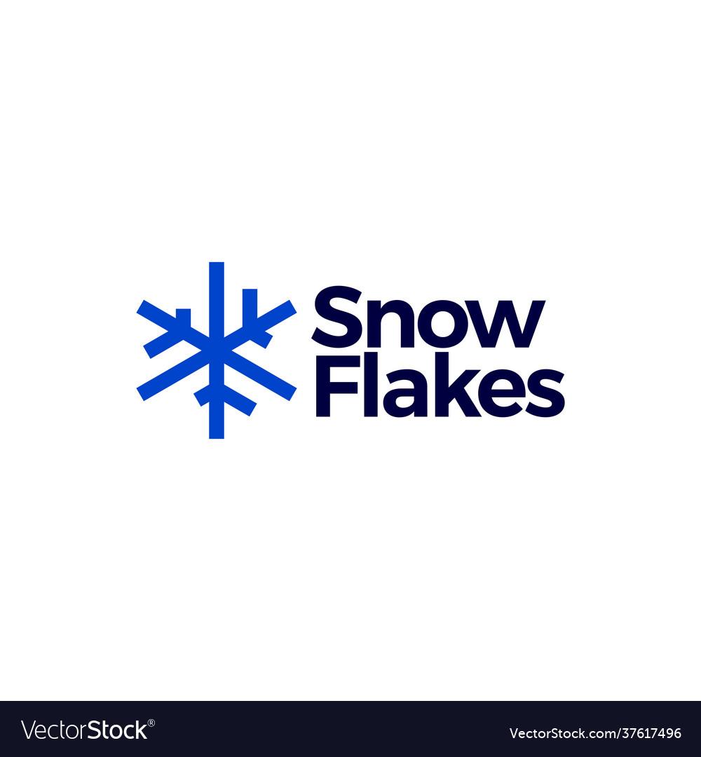 Snowflakes logo icon