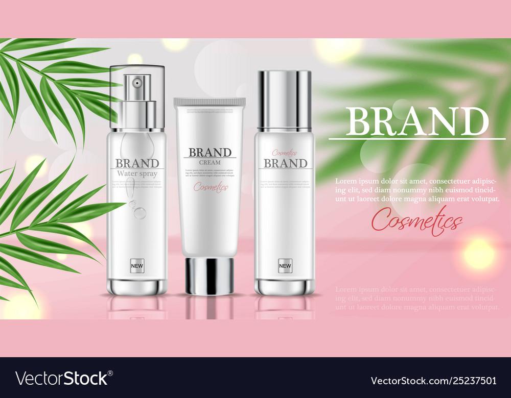 Cosmetics cream moisturizer hydration