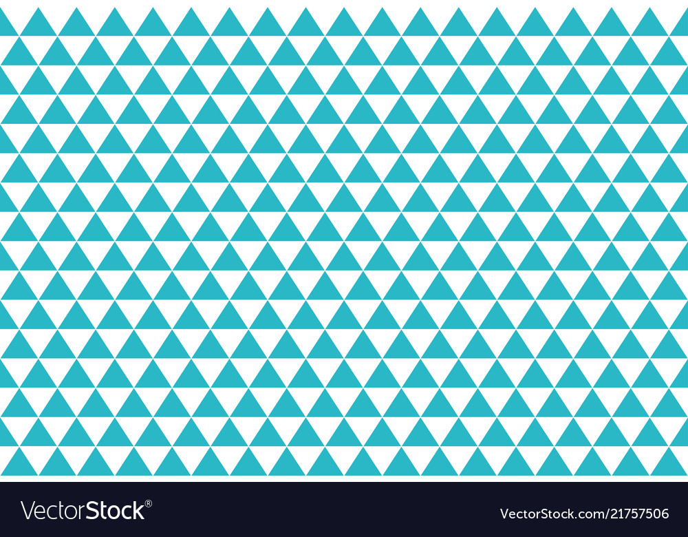 Blue abstract triangles retro paper pattern