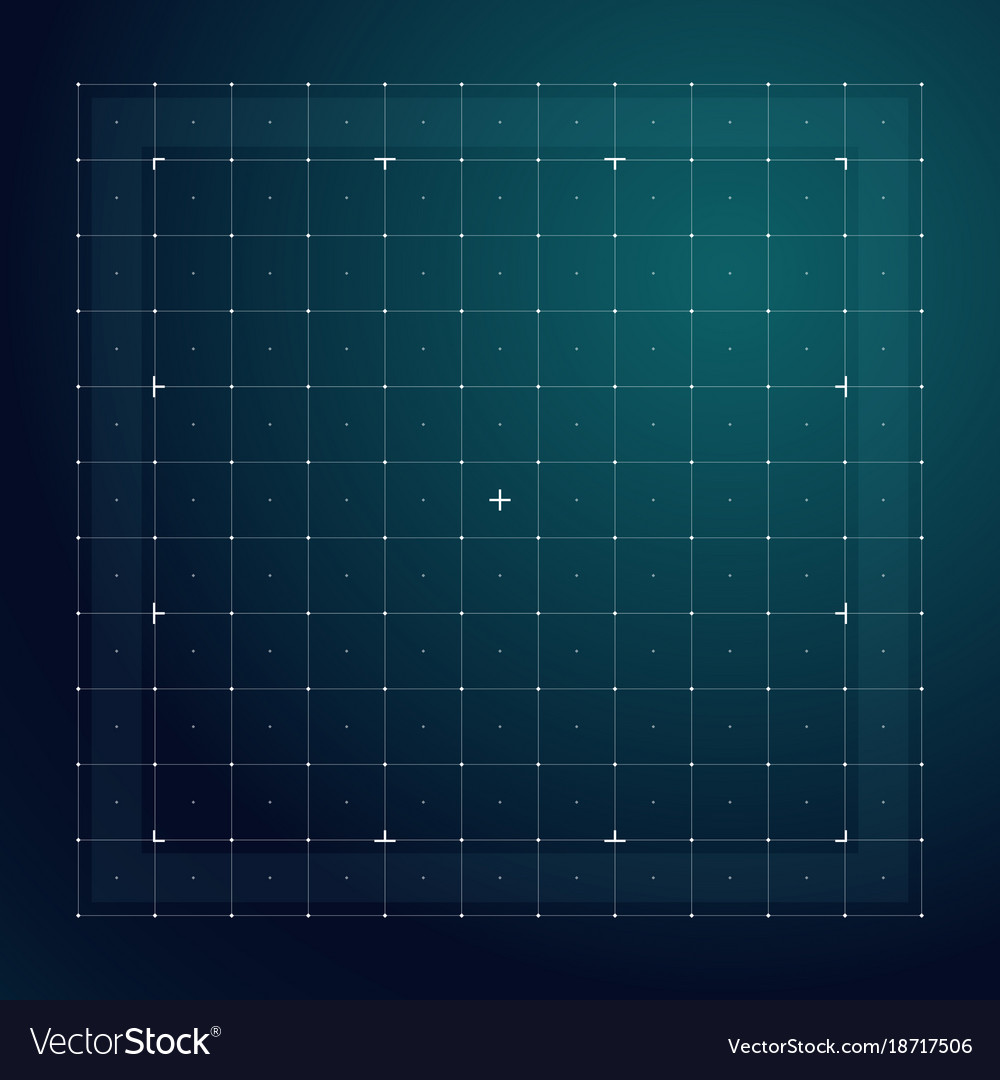 Grid for futuristic hud interface line technology